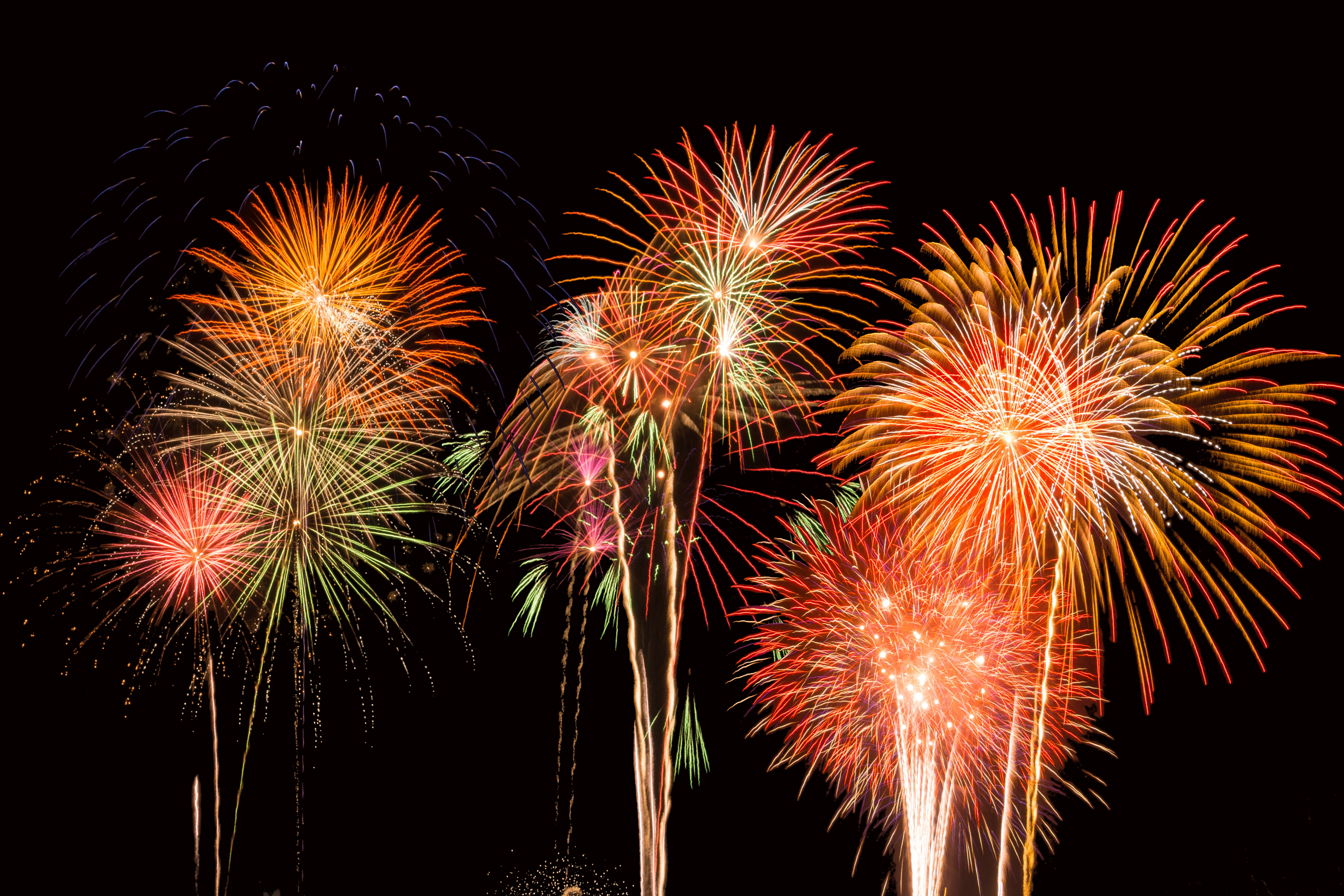 Chamber Members Hear About Fireworks Show