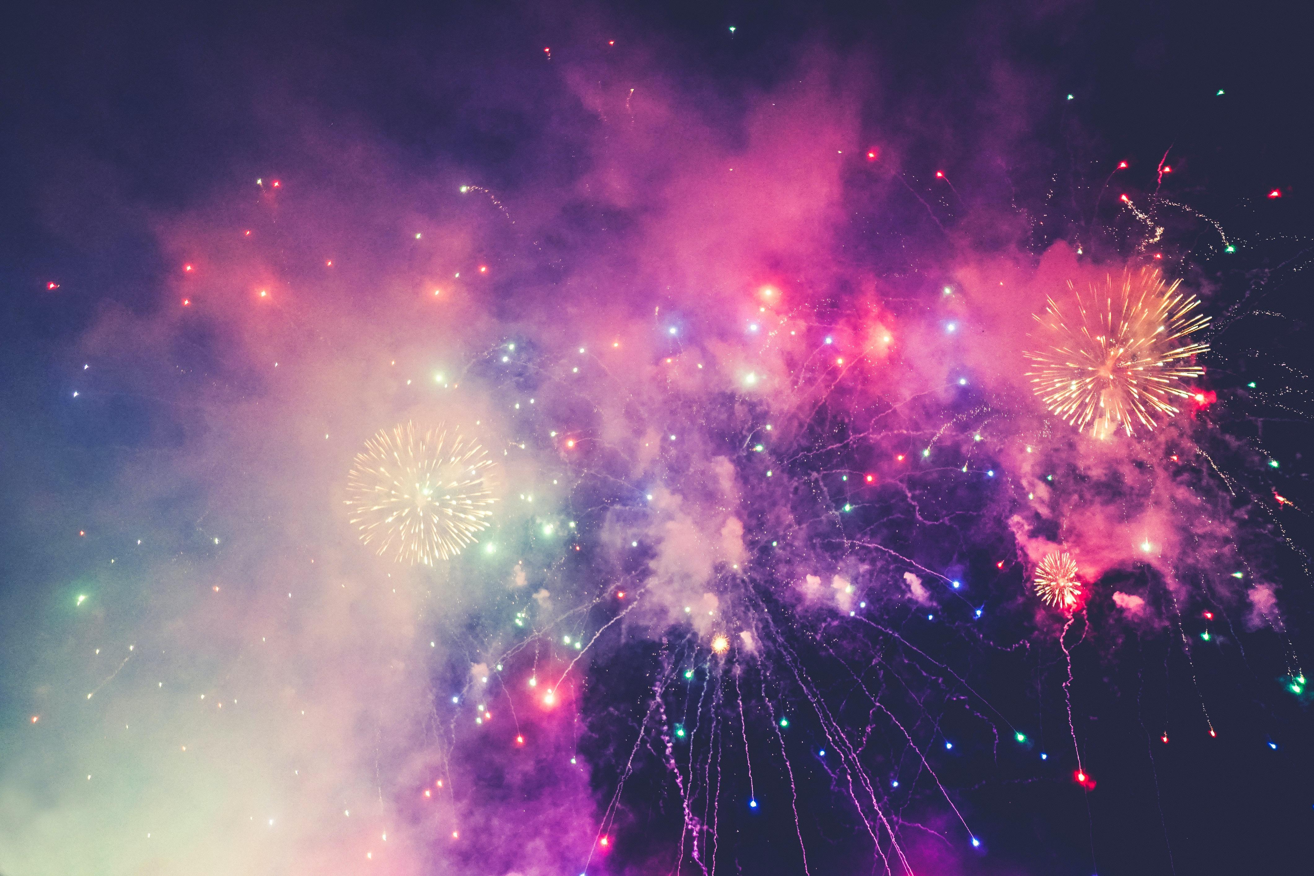 Fireworks Over Farmington