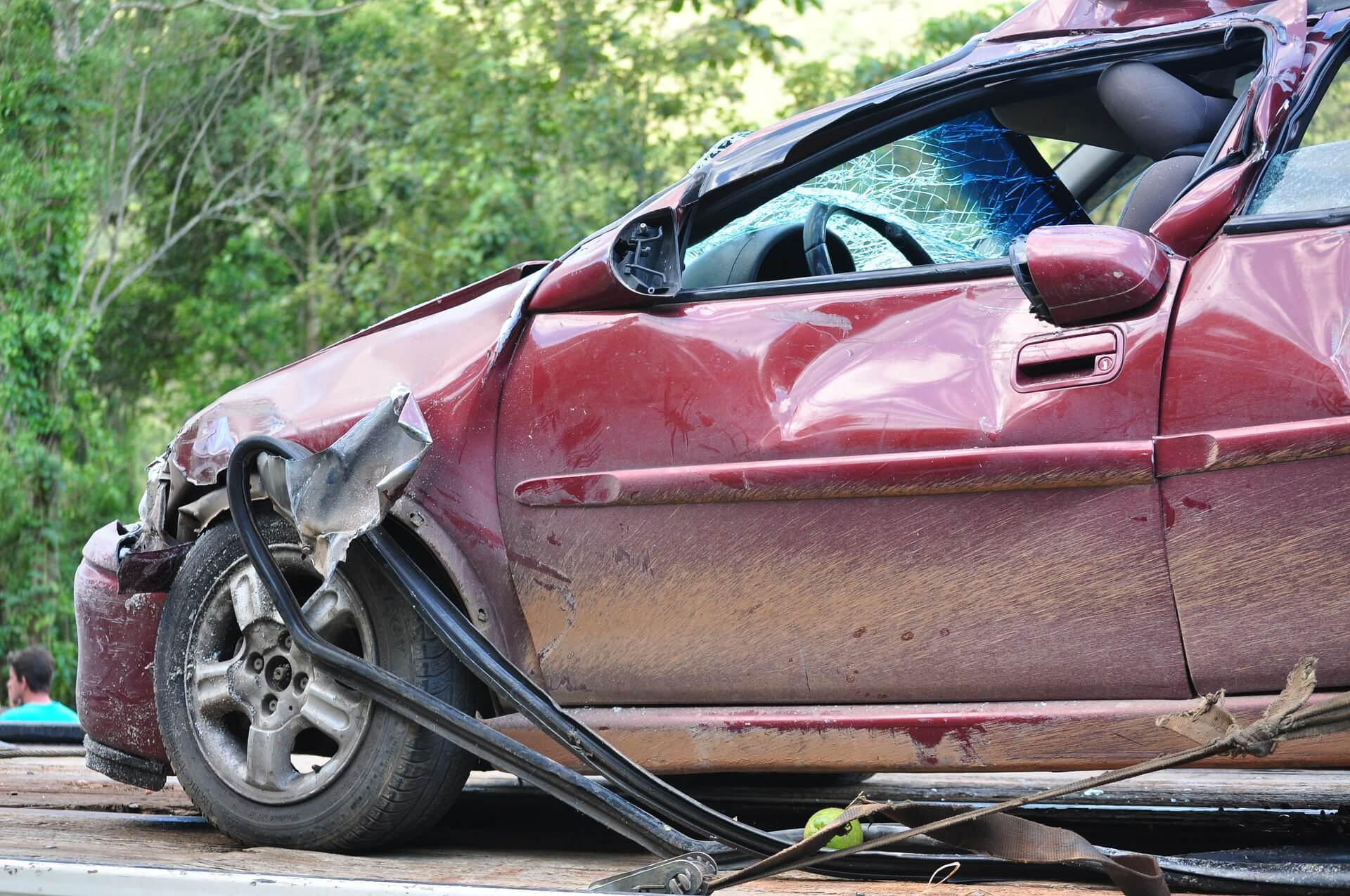 Friday Accident Leaves Woman Injured