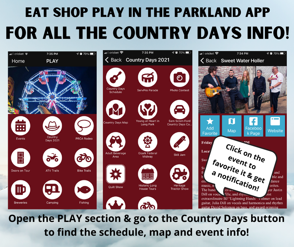 Get the App for Country Days