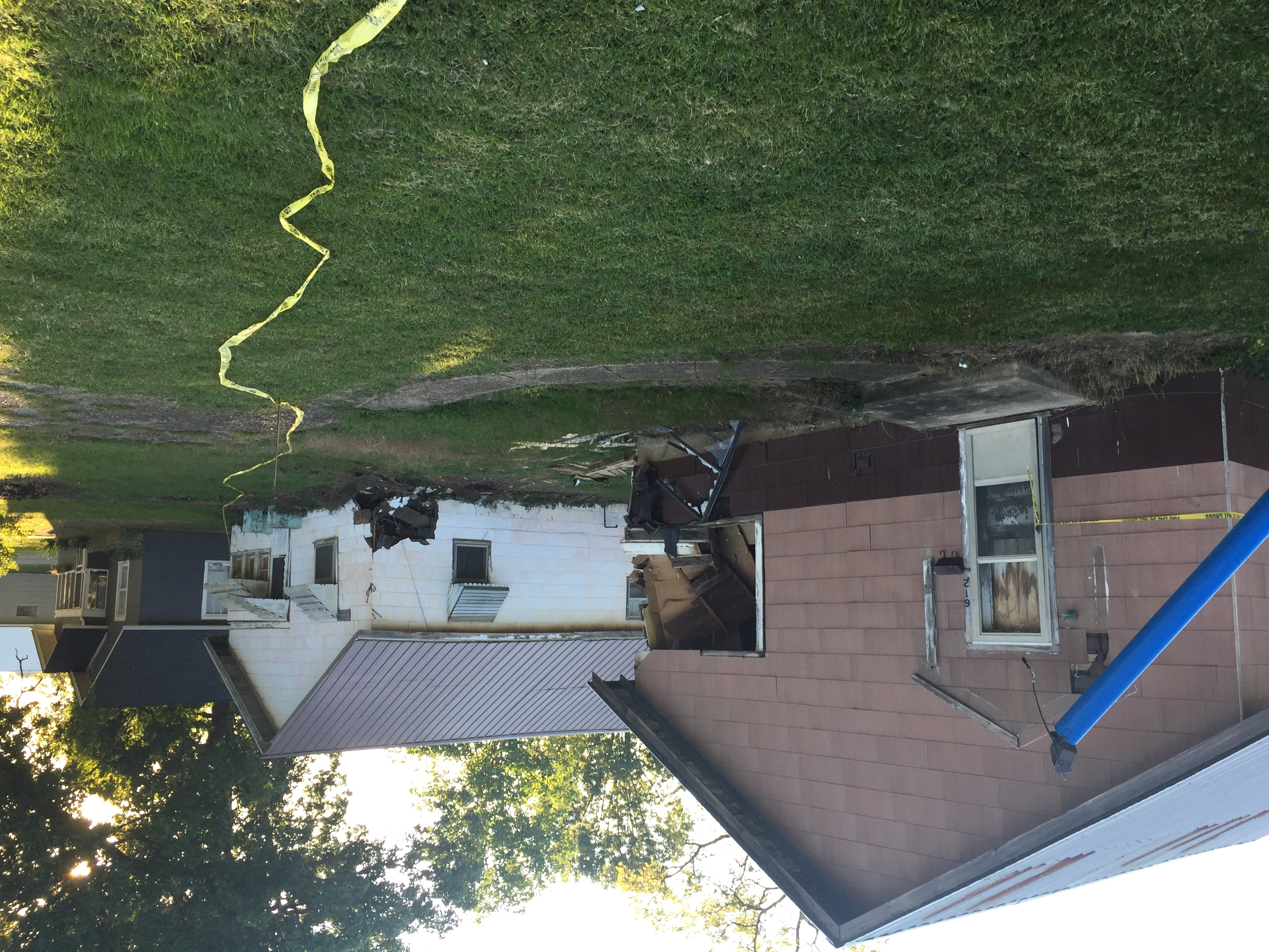 No Injuries after Vehicle Hits Houses