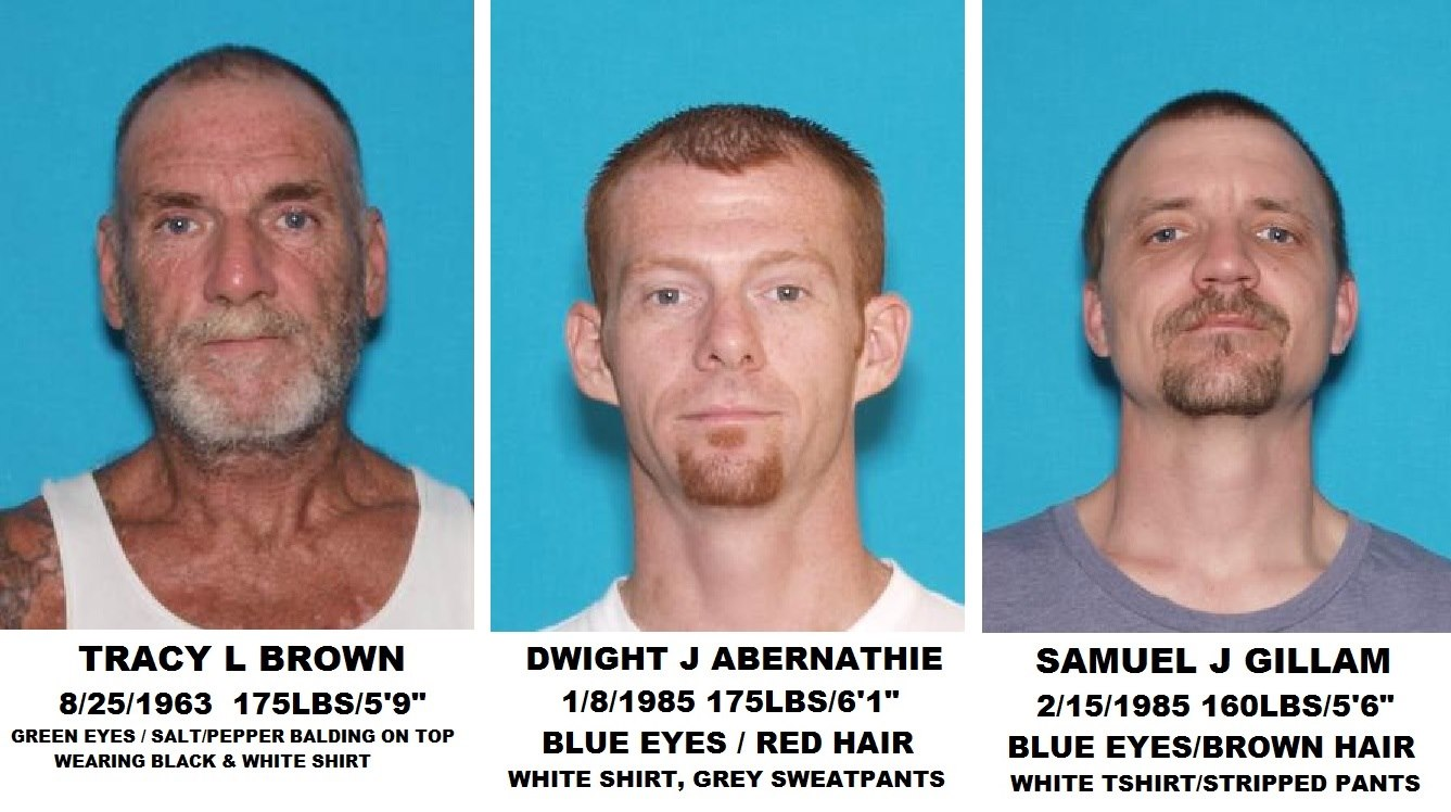 Three Men Loose from Iron County Jail