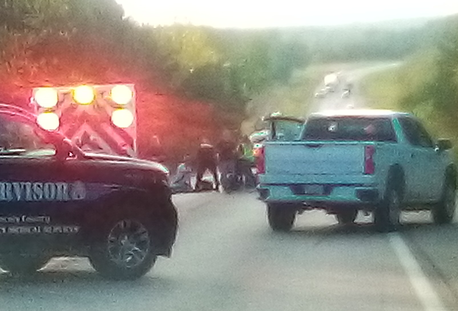 Motorcycle Wreck Injures Mineral Point Men