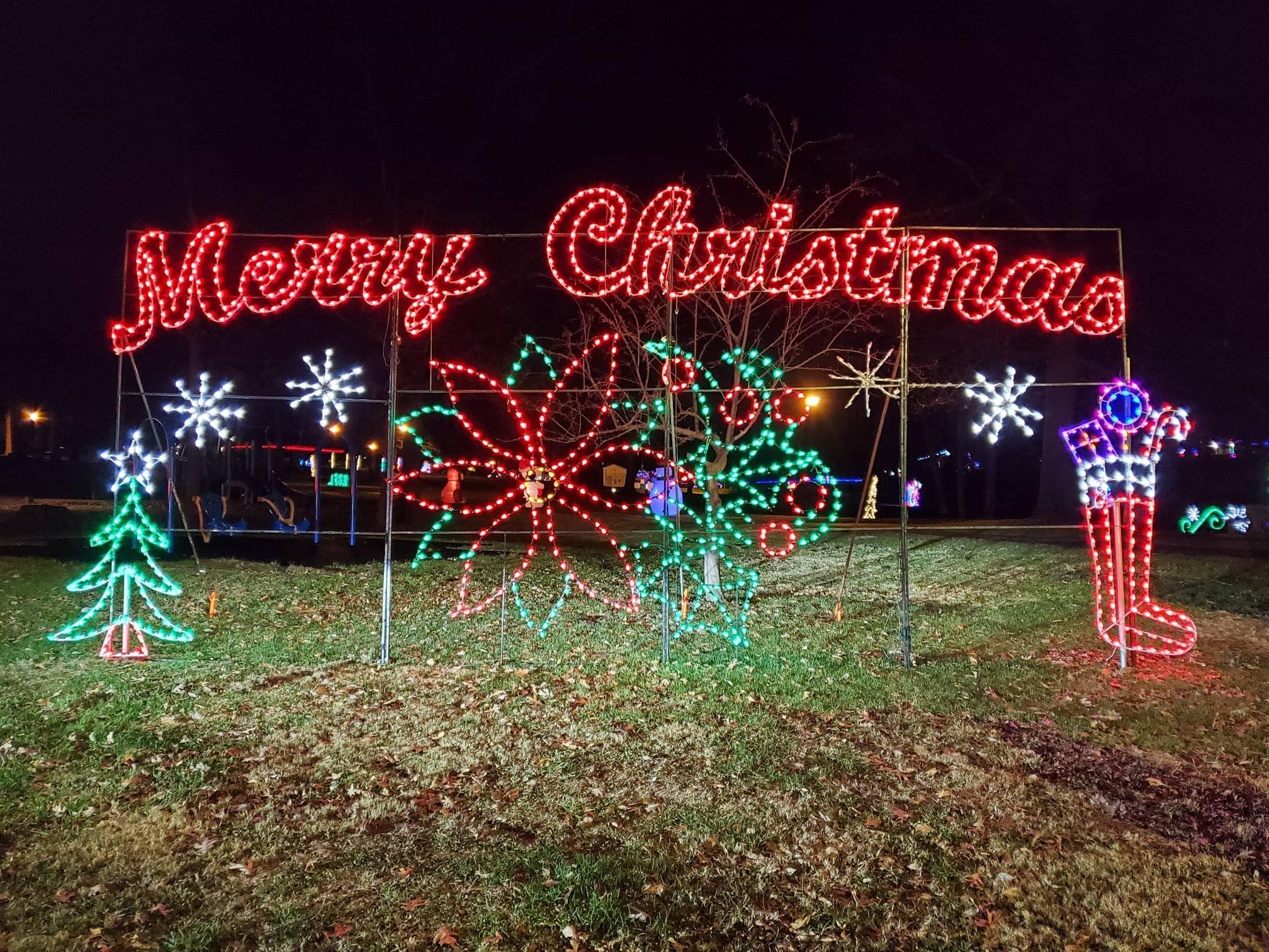 Park Hills Columbia Park Christmas Lights