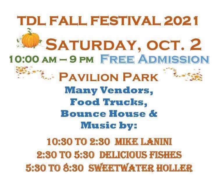 Terre Du Lac Fall Festival Open To All
