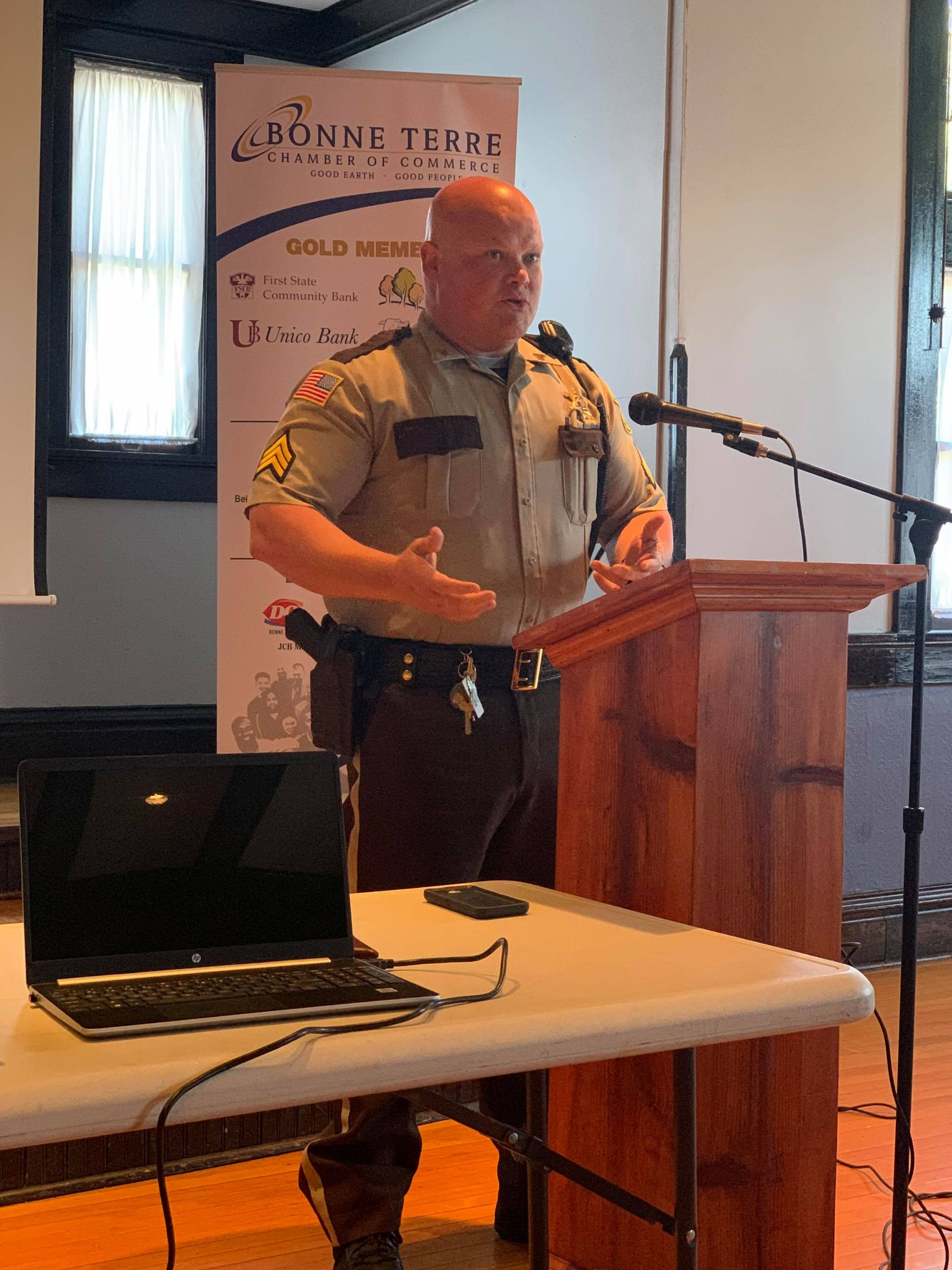 Chamber Meeting Gets Sheriff's Department Update