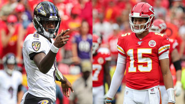 NFL's top two QB's ready for Monday Night